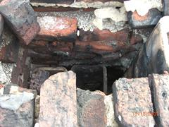 Badly Damaged Roof Chimney and Flue