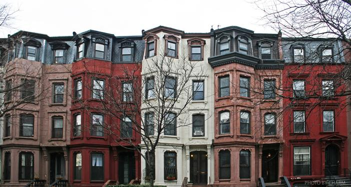 bed stuy brownstones